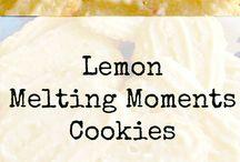 Lemon melting moments
