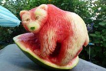 creative / food art, optical illusions, adds...