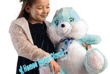 Pelüş Oyuncak Tavşan 60 cm - Üfiş Hediye - Vip gönderi Hediyecik.com.tr Online Oyuncak Hediye Alışveriş 7/24 Sipariş 0212 325 24 25