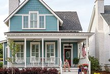 american house color
