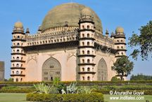 Gol Gumbaz - Second Largest Dome in the World / Heritage structure Gol Gumbaz in Bijapur, Karnataka, India is the second largest free standing Dome in the World - Places to visit in Karnataka