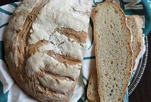 chleb; bread na zaczynie, na polisch