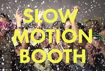 Slow Motion Video Booth / Video booth, wedding slow motion video booth, Mitzvah video booth.