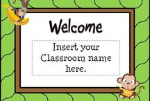 Back to School / Ideas for getting ready to go back to school.  The focus is on elementary classrooms in kindergarten, first grade, second grade, third grade, fourth grade, and fifth grade.  Welcome back activities, decorating ideas, and classroom organization is included.