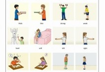Adjective flashcards for language learners