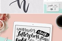 Calligraphy & Fonts