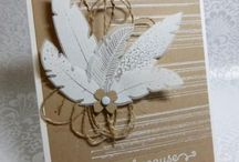 Four Feathers Cards / by Rita Day