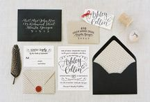 Invitations | Wedding / wedding & other invitations / by Esther Park