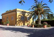Dependance Fattoria - Apartment Il Fattore / Apartment Il Fattore - (for 8 people) http://www.villagraziani.com in #Tuscany, #EtruscanCoast, 1 km. from the sea
