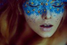 FACE PAINTING. / My aesthetic as a Makeup Artist. / by FAITH ELIZABETH ABBEY KELM