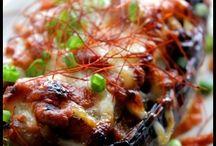 米ナスの肉味噌グラタン