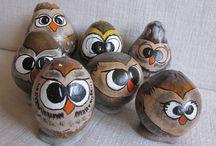 SOWY  OWLS / Sowy rozne