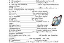 angličtina-príd mená, príslovky