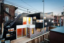Architecture extension - greffe / Architecture - construction - extension - greffe sur un existant - space design - additif architecture -