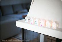 DIY-紙の家
