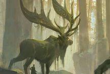 В тумане леса / Лес окутывает туманом, и стираются границы между реальностью и тем, что прячется по ту сторону бытия...