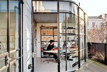 balconies / terraces / rooftops / patios