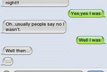So drunk texts