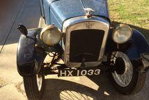 1930 Austin Seven AF Tourer / Right hand drive English Austin Seven AF Tourer