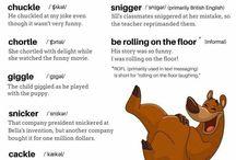 Useful vocabulary