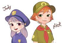 Disney anime!!