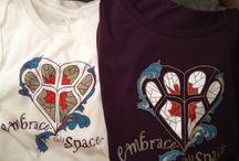 Original artwork Tshirts / Original artwork with empowering, positive messages for Tshirts.