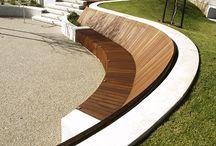 ławki miejskie / bench outdoor