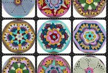 Crochet-Frida's Flowers Blanket♥