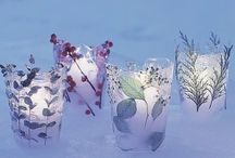 Winter outdoor decoration