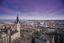 Aberdeen / bmi regional fly to Aberdeen from Bristol, Esbjerg, Kristiansund, Manchester, Norwich and Oslo.