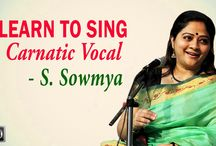 Learn to Sing Carnatic Vocal - Sowmya