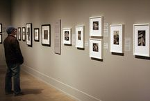 Art gallery displays and framings / Framing and display of photographs in art galleries / by Sheila OConnell