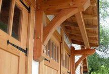 Woodwork for housebuilding