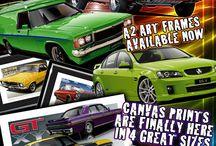 Automotive Art Prints / Automotive Art Drawings- Frame & Canvas Car Prints by Unique Autoart.