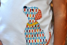 T-shirt and baby quilts