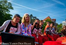 Things to do in Den Haag, The Hague / For your visit in our beautiful city Den Haag, the Hague and don't forget our beach at Scheveningen. We can bring you and your friends there with a boat :)