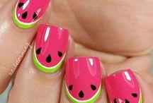 Friut nails / Owocowe paznokcie