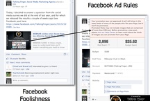 Facebook 20% Rule  / The silly Facebook 20% rule that results in promoted posts that were stopped.  / by Talking Finger, social media marketing