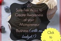 Marketing for Mompreneurs / Freebies to help a mompreneur start and grow a home business