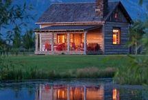 ház a tónál