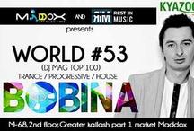 KyaZoonga.com: Buy tickets online for World No 53 Bobina live at Maddox Delhi