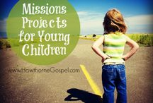 Raising Missional Kids / Things to help our kids live for Jesus.