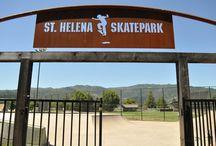 St Helena Skatepark (California, USA) / Shredding the World One Skatepark at a time - St Helena Skatepark (California, USA) #skatepark #skate #skateboarding #skatinit #skateparkreview