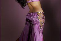Oriental dance costumes