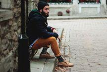 Looks de Inverno / Inspiração de looks masculinos para um inverno com estilo.