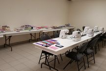 "Mother and Daughter Workshop 2017 / ""We hope everyone enjoyed our first mother and daughter workshop at our Laval store on Saturday May 6. Happy customers went home with their own creations and possibly a new passion for sewing!   Thank you to our instructor Guylaine Cadieux for hosting this event.   Happy Mother's Day!"""