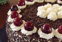 Gâteaux crémeux