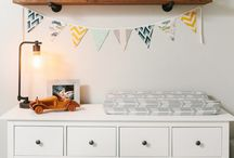 Nursery Decor / Whether the theme is vintage, glamour, eclectic, or modern, decorating the nursery is your chance to get creative and bond with your partner.