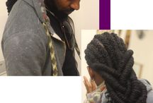 Locs / Styling Tips / by Tracey Roberts