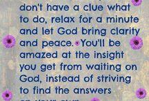 Wisdom & Encouragement